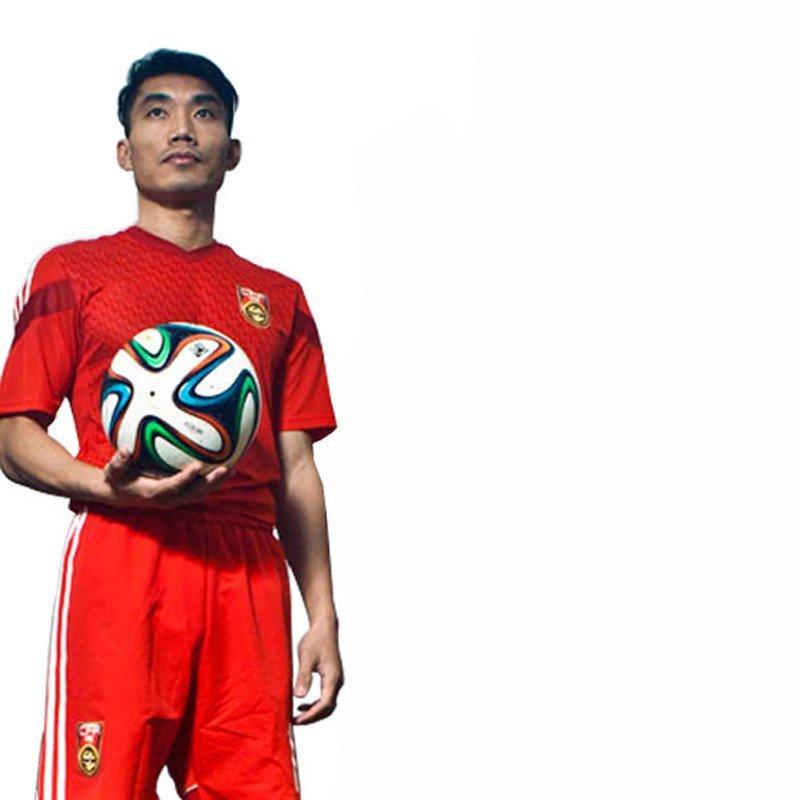 并力BINLI14-15欧冠世界杯中国队主场球衣足球