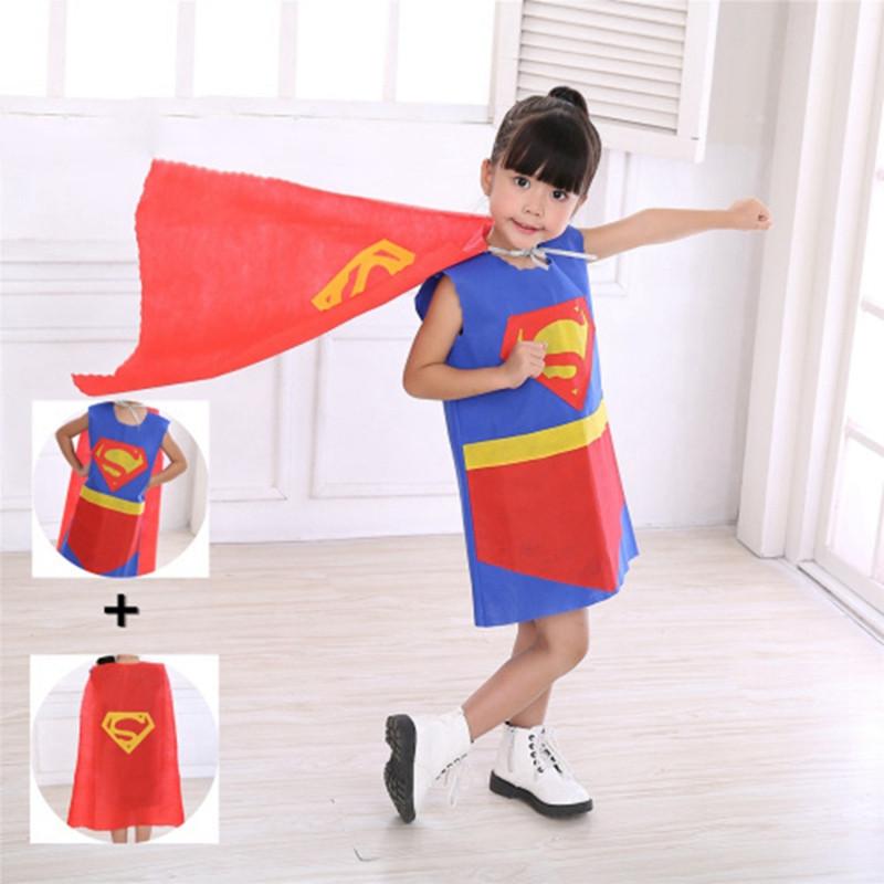 六一儿童节演出服环保服装儿童时装秀手工超人幼儿园亲子走秀表演