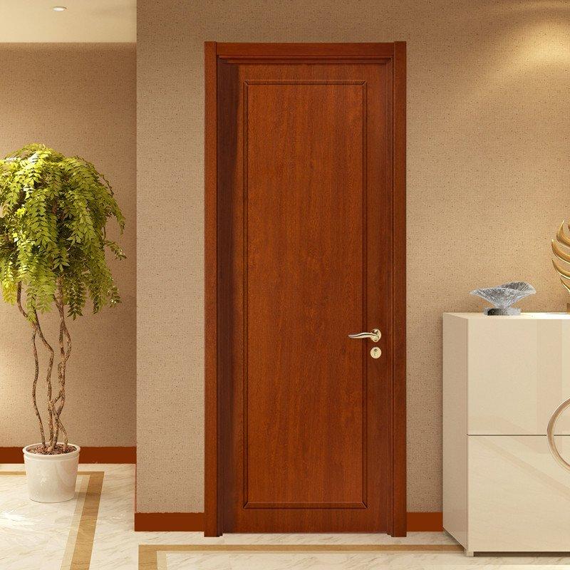tata木门 现代简约室内门套装门 实木复合卧室门免漆定制木门@008