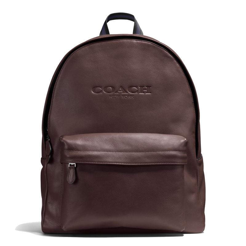 蔻驰(coach)新款时尚运动旅游男士双肩包背包 54786