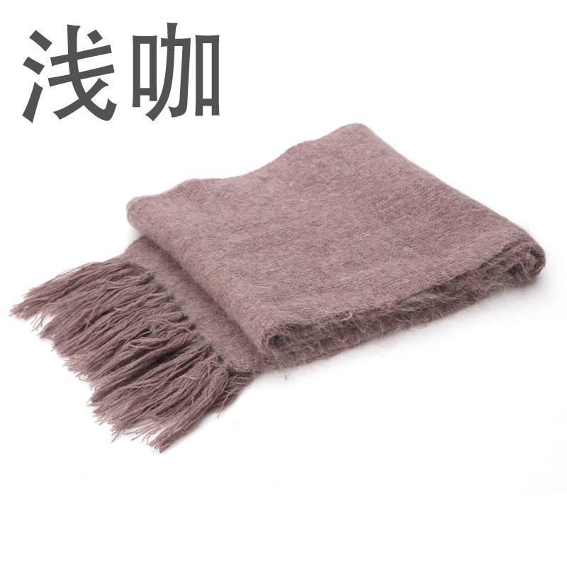 秋冬季加厚保暖老人围巾中老年人围巾 毛线围巾保暖妈妈围巾披肩 女士