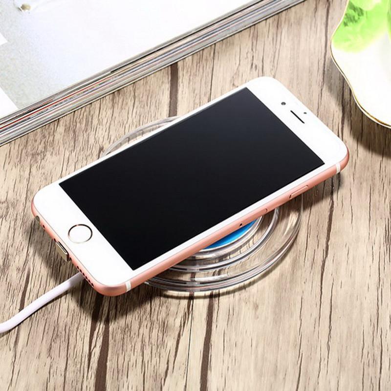 柏族y6无线充电器 苹果76splus无线充电器三星s7/note图片