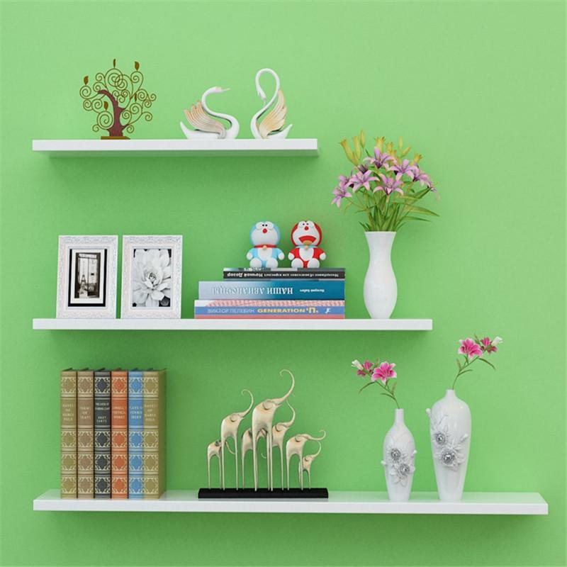 墙上置物架墙壁客厅一字隔板搁板壁挂墙面层板书架现代简约装饰架