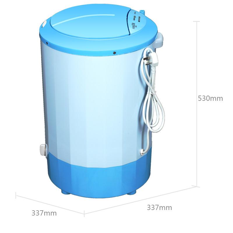 5千克 单桶半自动 迷你小洗衣机 婴儿洗衣机 xpb25-1668 天空蓝
