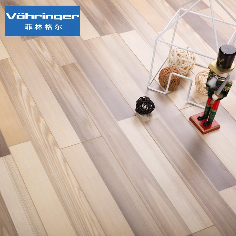 菲林格尔 地板 德国 强化 复合 木地板 6-388双拼欧洲岑木 12.3mm