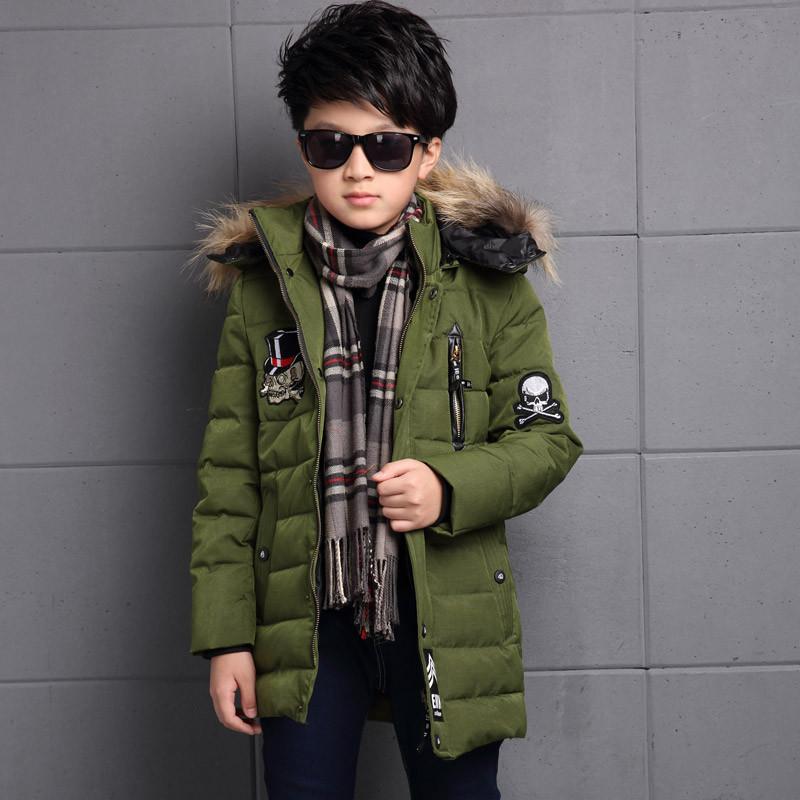 米果粒粒 男童棉衣加厚2016新款童裝兒童棉襖韓版外套圖片