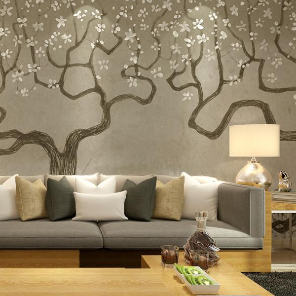 手绘个性几米风格背景墙壁纸