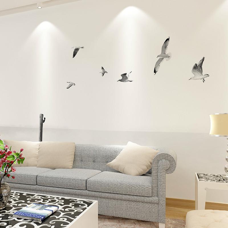 北欧卧室沙发墙壁纸后现代客厅背景墙墙纸 黑白风景墙布