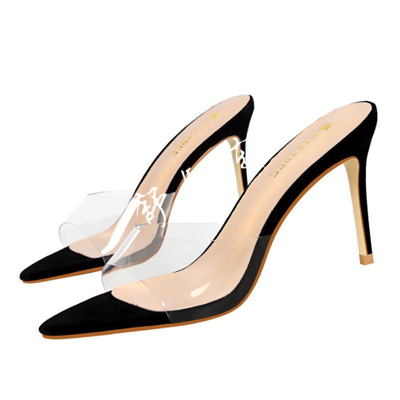 哪种高跟鞋穿着舒服_女高跟鞋透明面拖鞋哪种牌子比较好 价格