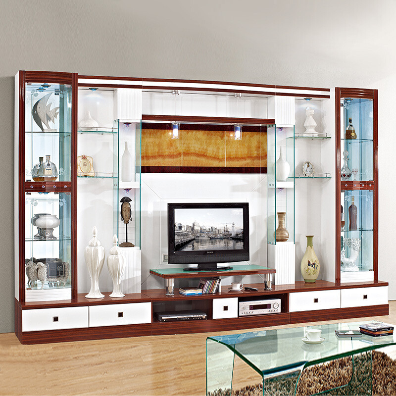 琪幻 电视柜背景柜组合大户型客厅简约酒柜影视柜背景