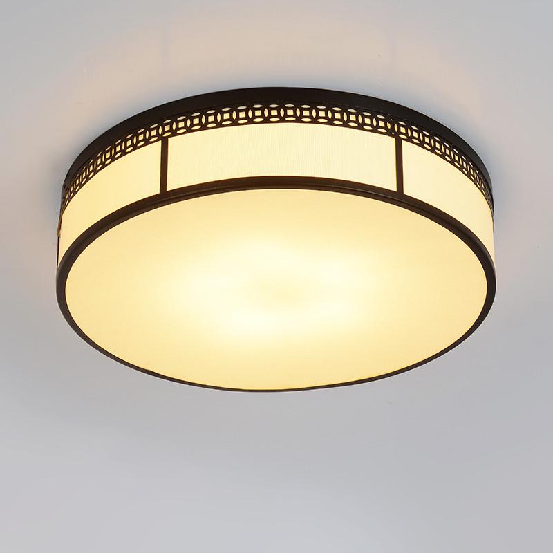简约现代新中式led吸顶灯洒店客厅灯具温馨卧室灯书房图片