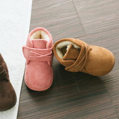兒童棉鞋女童冬季鞋二棉鞋男童毛毛鞋冬鞋寶寶棉鞋加絨保暖1-3歲
