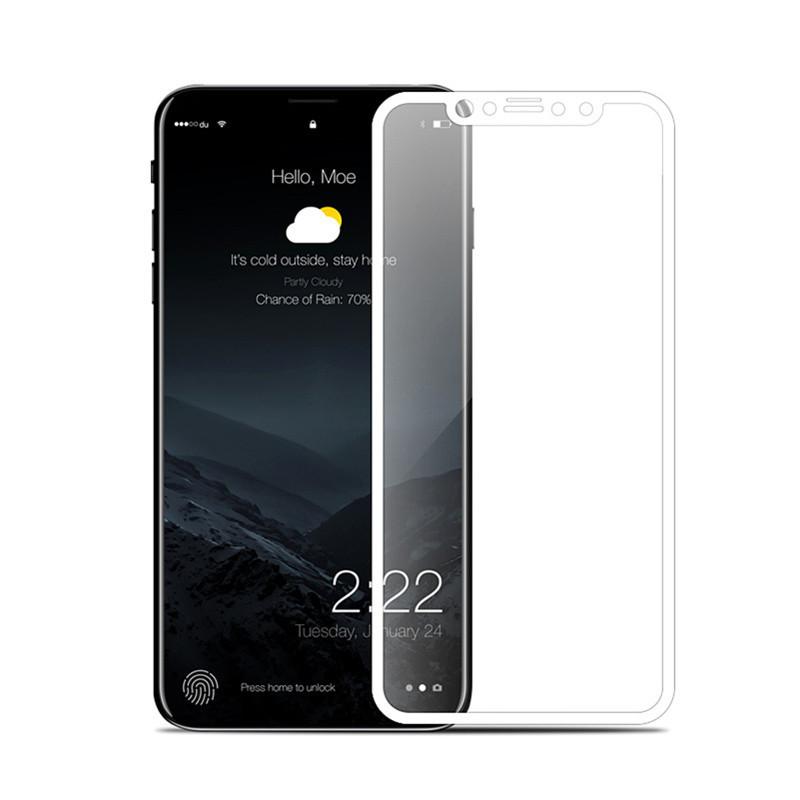 手机8plus覆盖膜5d/6d全屏钢化6s/7全包边iphonex苹果v手机三防灯图片