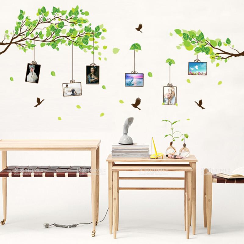 田园温馨室内照片贴客厅卧室餐厅风景墙上贴画自粘可移除贴纸墙贴