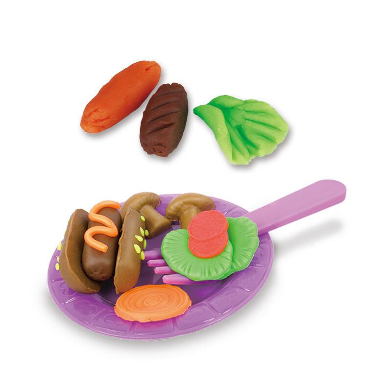 3d橡皮泥面粉软陶粘土套装模型工具 汉堡机模具黏土diy手工制作陶泥