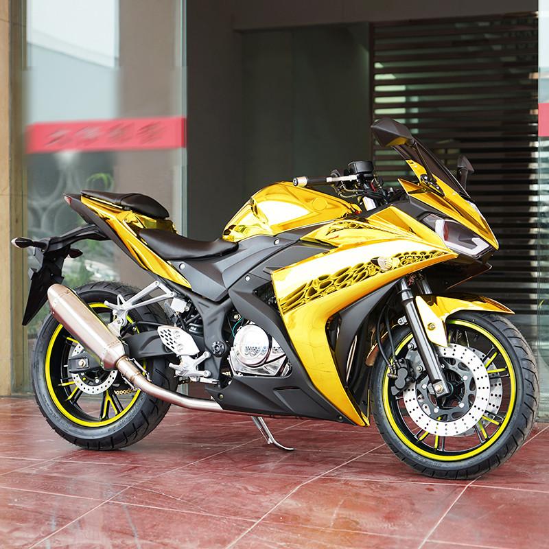 大趴赛摩托车店_风感觉r3地平线摩托车跑车大趴赛永源150-400cc双缸水冷新川崎排气管