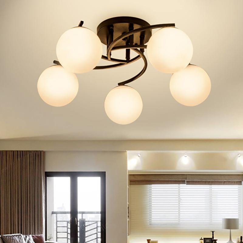 海斯锐 美式吊灯客厅灯简约现代铁艺卧室餐厅欧式吊灯图片