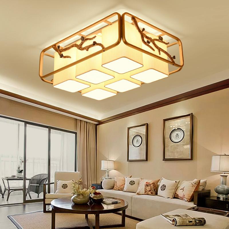 海斯锐 复古中式餐厅吊灯创意个性客厅书房灯led吧台吊灯新中式吊灯