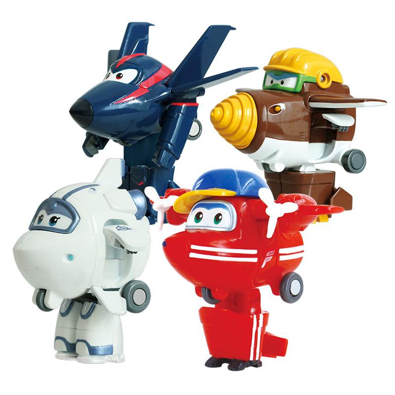 奥迪双钻超级飞侠儿童玩具迷你变形机器人 迷你款主角