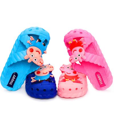 夏天新款卡通时尚儿童凉拖鞋夏季男女童家居防滑可爱凉拖