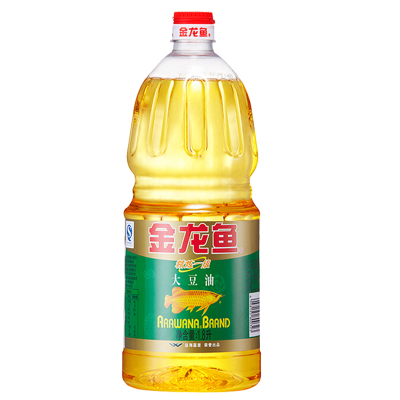 金龙鱼 大豆油精炼一级 1.8L口味清香 新老包装随机发货
