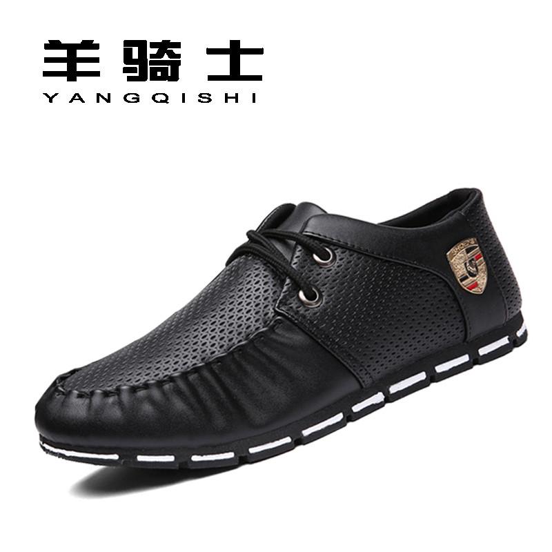 羊骑士2017新款冬季休闲男鞋英伦韩版潮流板鞋男士百搭帆布潮鞋