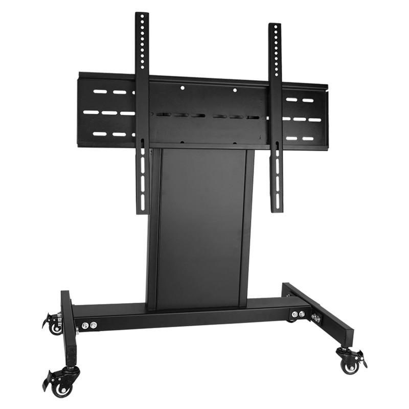 三策32-58英寸通用液晶电视显示器移动支架落地舞台推车会议主席台图片
