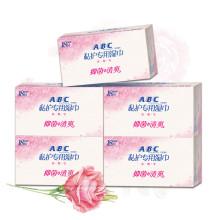 ABC卫生湿巾男女私处护理湿巾18片*5盒