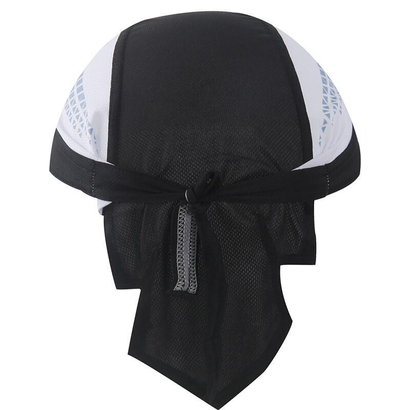 骑行头巾海盗帽系法图解