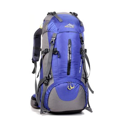 户外登山包户外背包男女通用防水旅行包大容量徒步运动双肩包男女50L大容量包骑行包旅行双肩包---0972