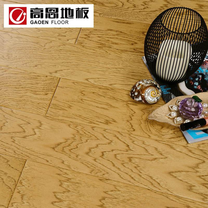 高恩地板 多层实木复合山核桃木地板