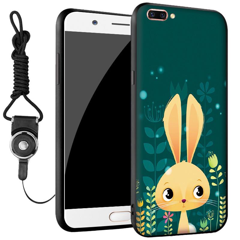 oppo r11手机壳 oppor11保护套 r11 手机壳套 保护壳套 个性创意挂绳