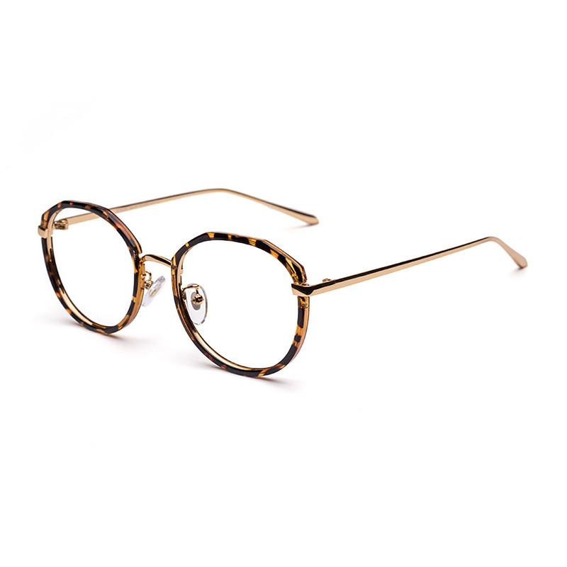 哆哪光学眼镜架男女韩版潮流复古时尚文艺金属全框框