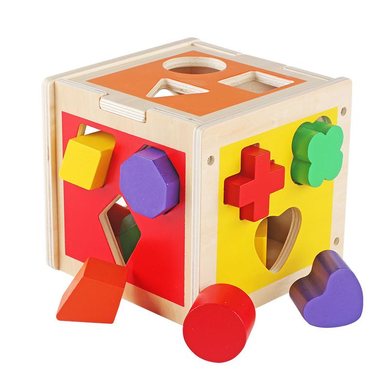 几何形状配对积木