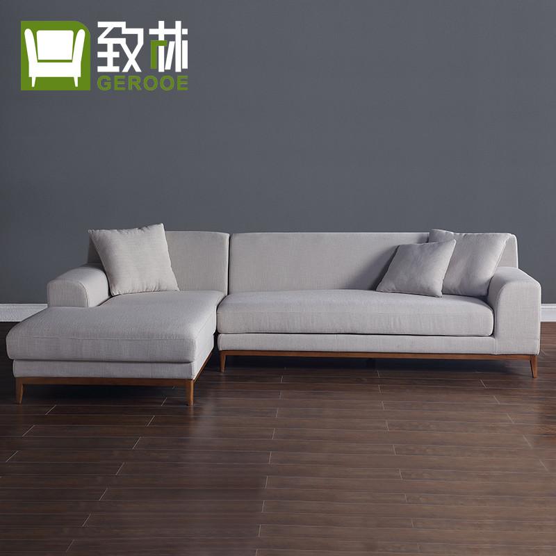 致林 沙发 布艺沙发软包简约客厅沙发 客厅家具