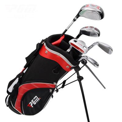 高尔夫儿童球杆 儿童高尔夫套杆3-12岁 5支装球杆送支架包 高尔夫儿童款组合套杆