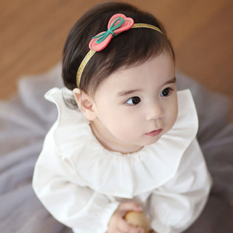 2017新品可爱卡通春季韩版婴儿发带 韩国可爱公主皇冠头饰女宝宝发箍