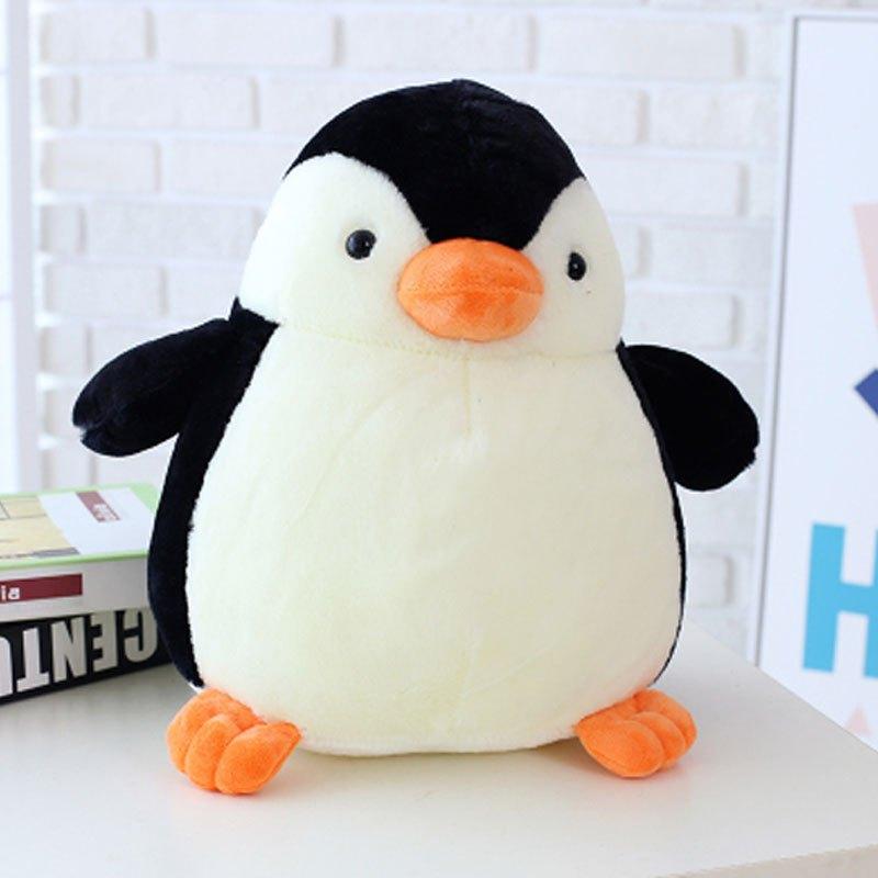 qq企鹅玩偶女孩布娃娃儿童绒毛卡通可爱呆萌大简约小清新多款多色可选