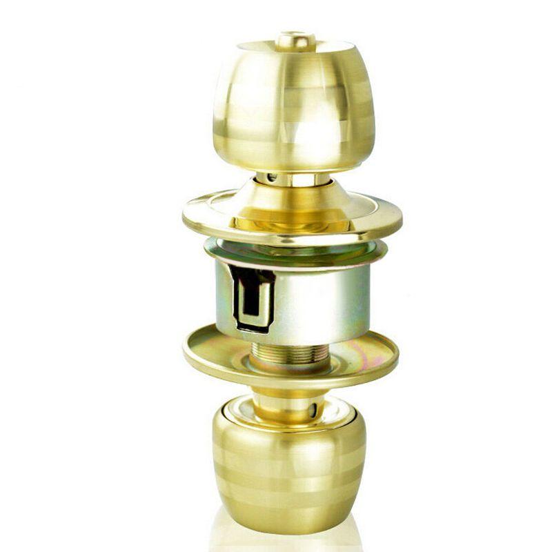 玥玛球形锁不锈钢球形室内门锁房门锁配纯铜c级锁芯球形锁具门锁5831