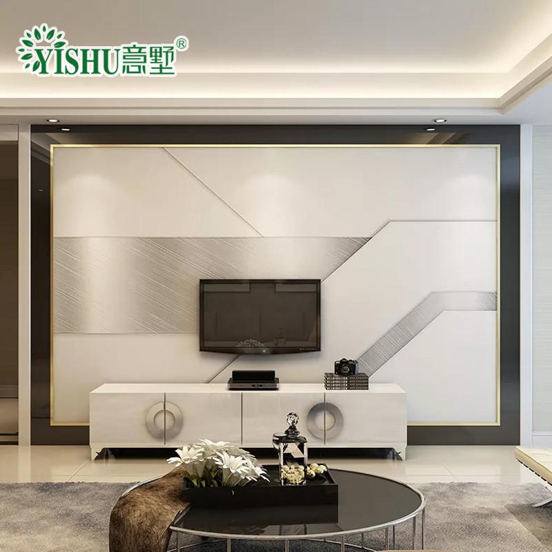 瓷砖背景墙现代简约客厅3d电视背景墙装饰墙砖微晶石客厅大理石简欧造