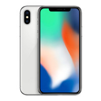 苹果 (Apple) iPhone X 港版 全屏手机 5.8英寸 全新未激活  Face ID 银色 64GB