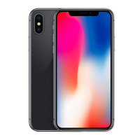 苹果(Apple) iPhone X 海外版 全网通 全屏手机5.8英寸 全新未激活 Face ID 深空灰色 64GB