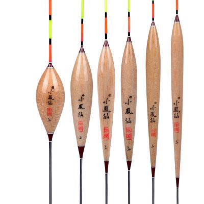 小凤仙XF系列枣核碳化巴尔杉木浮漂近视加粗2目扁尾鱼漂三角菱形尾浮标