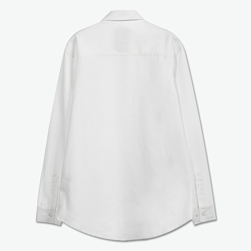 yoho有货 潮牌eight guys/秋冬新品 简约动物印花长袖衬衫男衬衣