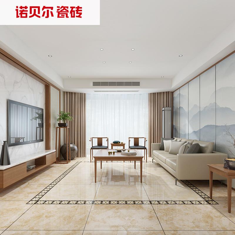 诺贝尔瓷砖 客厅地板砖墙地防滑800*800瓷砖圣索菲亚rs80778
