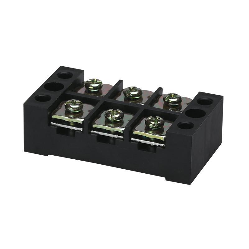 tb-4503 45a 600v 3位 固定式组合接线端子排 连接器接线排大电流