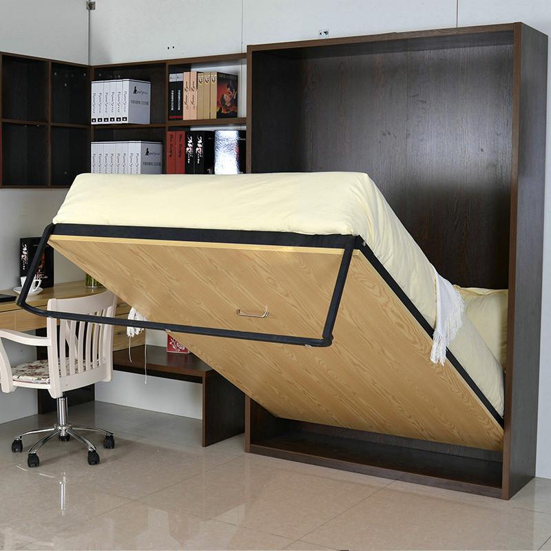 定制款创意家具现代隐藏床隐形床五金件配件壁柜床板床单人双人床