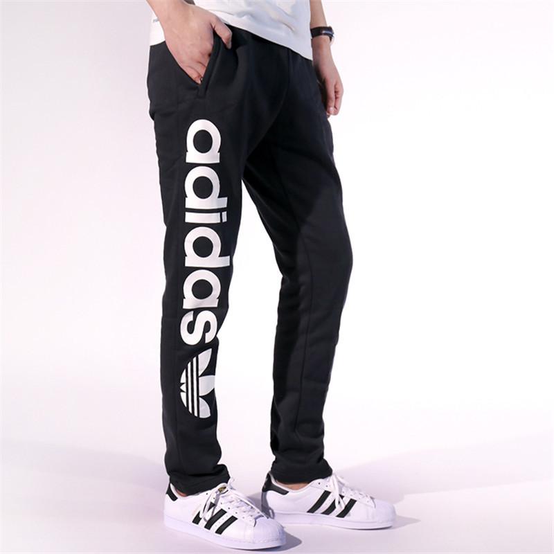 adidas 阿迪达斯 运动裤 三叶草男裤休闲小脚运动长裤