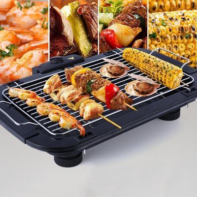 納麗雅(Naliya) 電燒烤爐無煙家用電烤爐韓國烤盤不粘烤肉機魷魚鐵板燒燒烤 標配