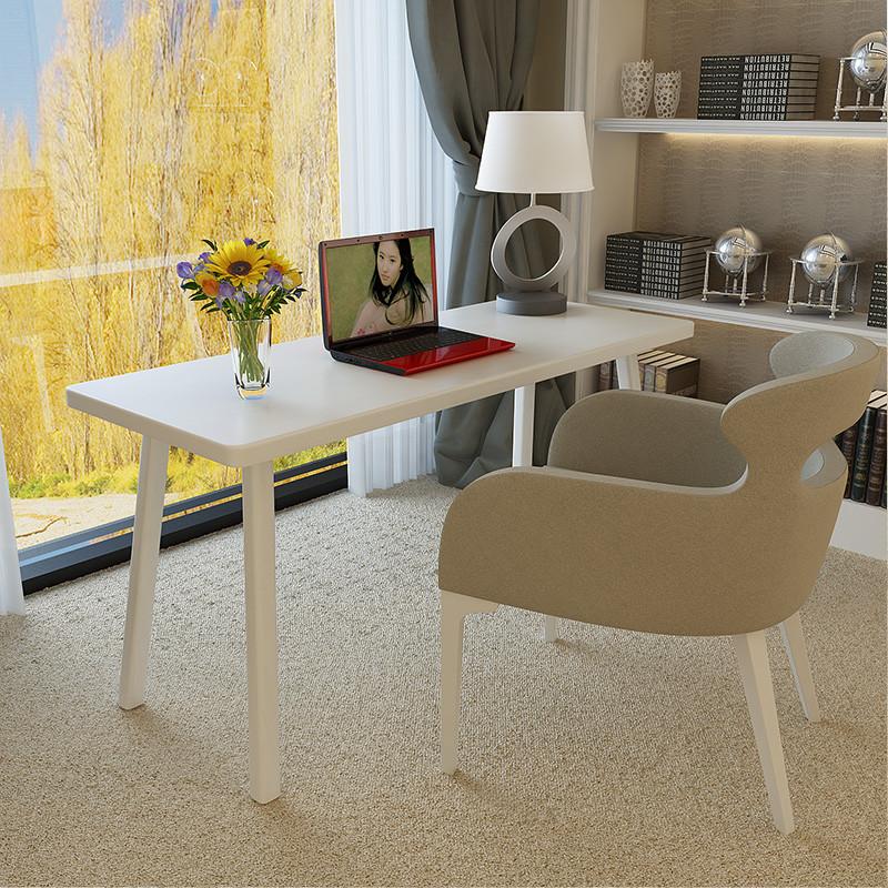 千住明实木书桌电脑桌北欧宜家书桌简约现代小户型实木日式风格家具